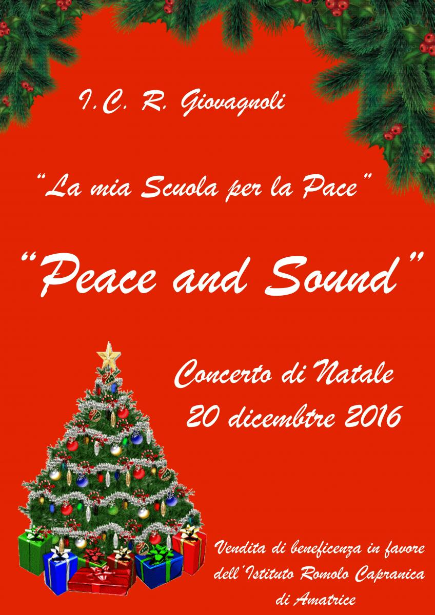 Concerto Di Natale.Manifesto Concerto Di Natale 2016 Istituto Comprensivo Statale Raffaello Giovagnoli